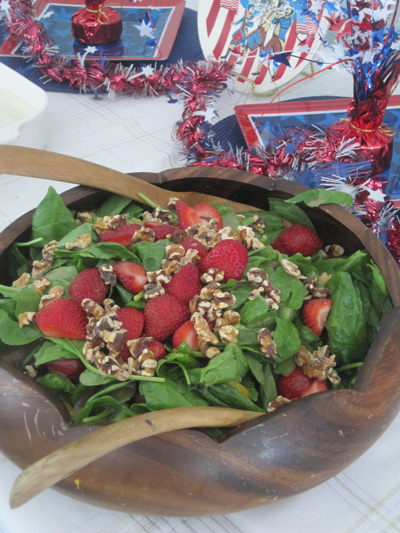 Barb Keno's Strawberry Spinach Salad