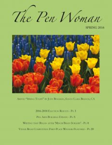 Cover page PenWoman spring 16