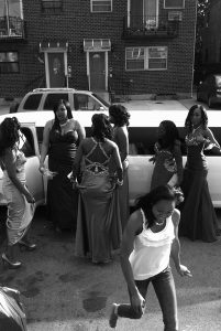 "The winning student photo entitled ""Getting Ready for the Prom"" taken by student photographer Dejah Cummings."