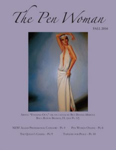 Cover of the Fall 2016 Pen Woman magazine