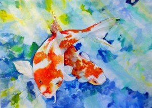 Silent Moves Michael B. Pearson, Member at Large Watercolor and Acrylic