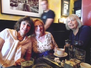 From left to right: Bev Goldie, Janis Harris, Judy Ostrow