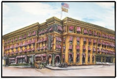 The Historic Osborne Hotel Circa 1922-Sandra Shutter