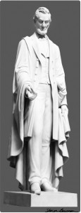 Abraham Lincoln sculpture by Vinnie Ream