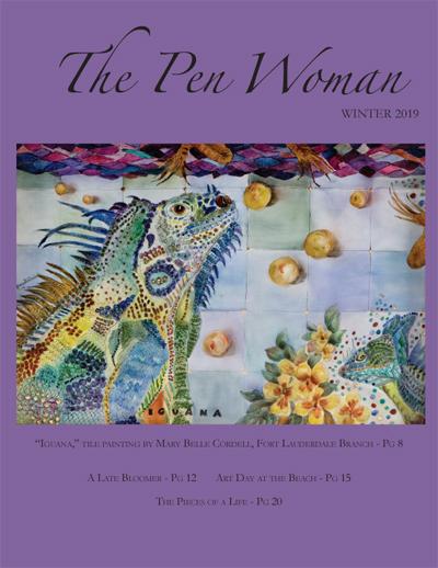 Winter 2019 Pen Woman cover