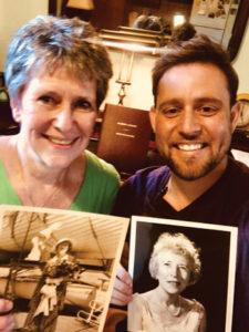 Kathleen Shimeta and Daniel P. Ryan with photos of Branscombe.
