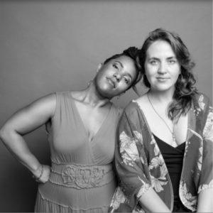 performers Amy K. Bormet and Shana Tucker