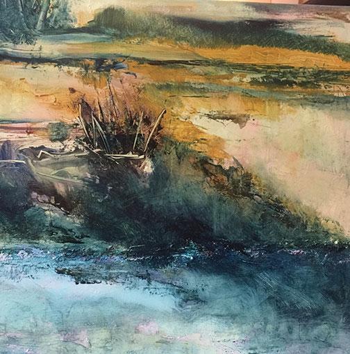 Mimi Sherman Pearce painting