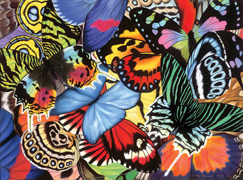 Tropical Wings painting