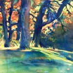 Oak-Grove-In-Autumn-Vivian-Ripley