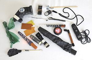 The artist's tools